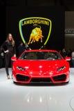2016 de sportwagen van Lamborghini Huracà ¡ n lp580-2 Royalty-vrije Stock Fotografie