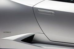 De sportwagen van Lamborghini Huracan LP 610-4 Royalty-vrije Stock Afbeelding