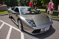 De sportwagen van Lamborghini Murcielago Royalty-vrije Stock Foto's