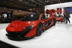 De sportwagen van Mclaren Stock Afbeelding