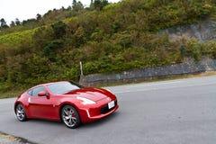 De Sportwagen van Nissan Fairlady 370Z Stock Fotografie