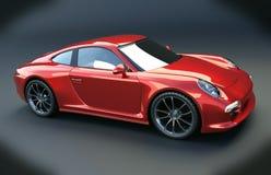 De sportwagen van Porsche Carrera 4s Royalty-vrije Stock Foto