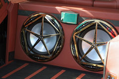 De sprekers van de auto royalty-vrije stock afbeeldingen