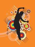 De springende Illustratie van de Sport Stock Foto's