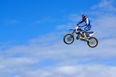 De Sprong van Moto Royalty-vrije Stock Foto