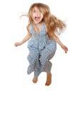 De sprong van Overjoy Stock Fotografie