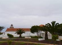 De sprookjekerk van La Ampuyenta op Fuerteventura royalty-vrije stock afbeelding