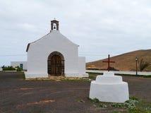 De sprookjekerk van La Caldereta op Fuerteventura Royalty-vrije Stock Foto's