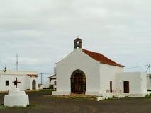 De sprookjekerk van La Caldereta op Fuerteventura Stock Afbeeldingen