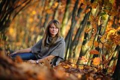 De spruit van de de herfstfoto Royalty-vrije Stock Foto's