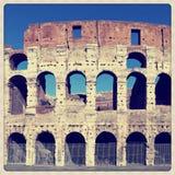 Het amfitheater van Coliseum Stock Foto's