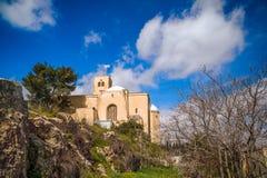 De St. Andrew Schotse kerk Stock Foto