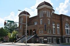 16de St Doopsgezinde Kerk in Birmingham, Alabama Royalty-vrije Stock Fotografie