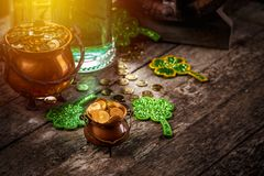 De St Patrick du ` s de jour toujours la vie photos stock