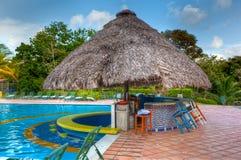 De staaf van de pool bij hotel Melia. Royalty-vrije Stock Afbeeldingen