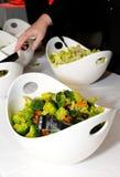De staaf van de salade Stock Foto