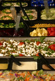 De Staaf van de salade Royalty-vrije Stock Afbeeldingen