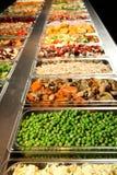 De Staaf van de salade Stock Afbeelding