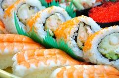 De staaf van sushi Stock Afbeelding
