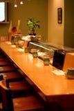 De Staaf van sushi stock afbeeldingen