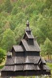 De staafkerk van Borgund Royalty-vrije Stock Foto's