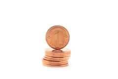 De staak van het geld Stock Afbeelding