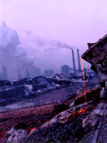 De staal industrie Stock Afbeelding