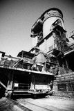 De Staalfabriekenfabriek van China Peking Shougang Royalty-vrije Stock Afbeeldingen