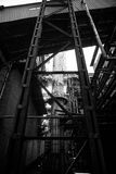 De Staalfabriekenfabriek van China Peking Shougang Stock Afbeeldingen