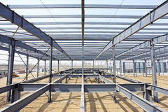 De staalstructuur Royalty-vrije Stock Afbeelding