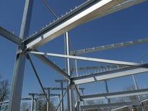 De staalstructuur Stock Foto's