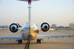 De Staart van het vliegtuig Stock Afbeeldingen