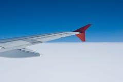 De staart van het vliegtuig royalty-vrije stock foto