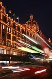 De staart van lichten van bus Royalty-vrije Stock Fotografie