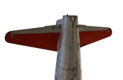 De staart van vliegtuigen royalty-vrije stock foto's