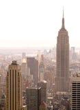 De Staat die van het imperium New York bouwt stock afbeeldingen