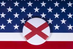 De Staat van Alabama in de V.S. stock foto's