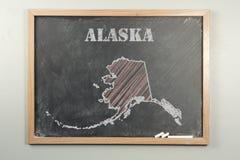 De Staat van Alaska stock fotografie