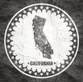 De Staat van Californi? door provincies royalty-vrije illustratie