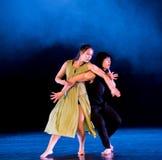 De staat van confrontatie 6-handeling 2: Dromenland van de driehoeks het relatie-moderne Dans stock afbeelding