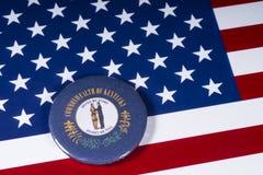 De Staat van Kentucky in de V.S. royalty-vrije stock afbeelding