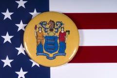 De Staat van New Jersey in de V.S. royalty-vrije stock foto