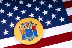 De Staat van New Jersey in de V.S. royalty-vrije stock foto's