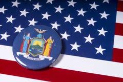 De Staat van New York stock foto