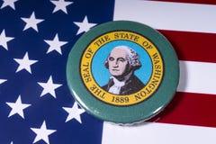 De Staat van Washington stock afbeelding