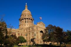 De staatscapitol van Texas stock afbeelding