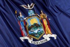 De staatsvlag van New York Royalty-vrije Stock Foto