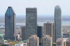 De stad in Stock Afbeelding