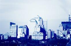 De stad in Royalty-vrije Stock Afbeeldingen