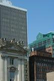 De stad in 2 Stock Foto